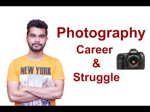 Career in Photography (Hindi)   how to become professional photographer