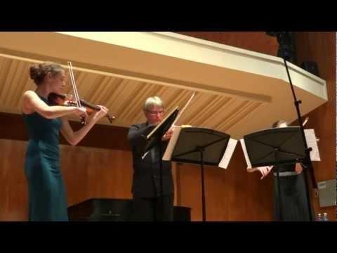 Terzetto for Two Violins and Viola,  Op. 74 - Antonin Dvorak