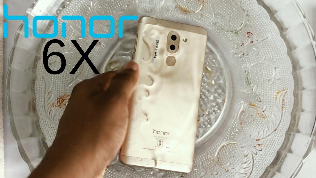 buy online f40db 09c3c Honor 6X Water Test! Actually Waterproof?