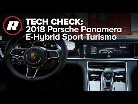 Tech Check: Porsche Communication Management in the 2018 Panamera E-Hybrid