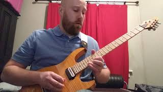 "Gambar cover Santana ""The Game Of Love (ft. Michelle Branch)"" Guitar Solo Cover"