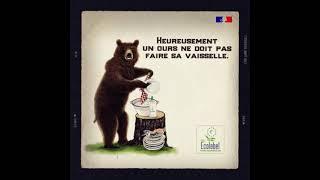 L'Ecolabel européen, puissant pour vous, plus doux pour la nature – l'ours
