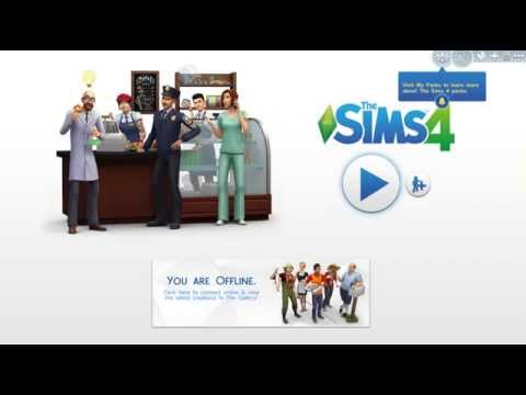 How to play The Sims 4 without internet connection 2015