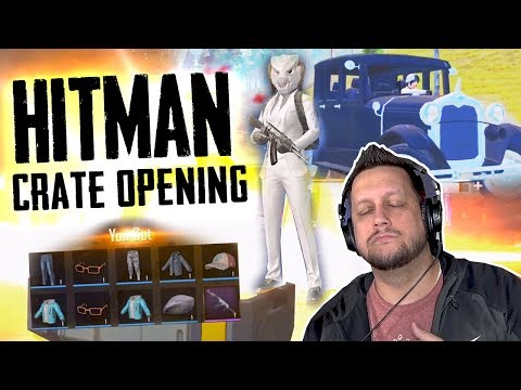 HILARIOUS HITMAN CRATE OPENING - CAN WE GET THE UAZ? PUBG Mobile