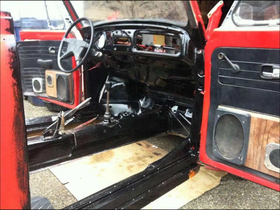 72 Vw Super Beetle Convertible Restore In Progress