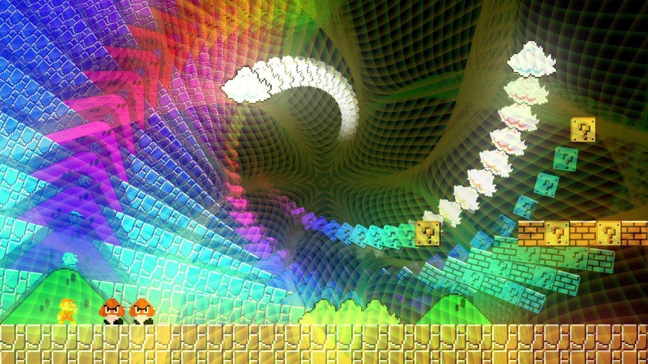 Dmt Wallpaper Hd Mario In Hyperspace 1080p 60fps Preview Youtube