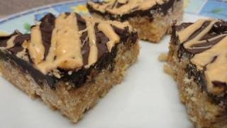 Tiger Bars (a No Bake Recipe)