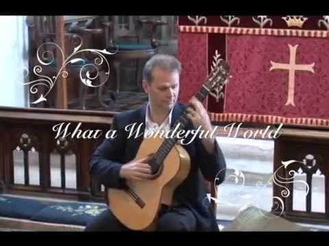 Wonderful World (Louis Armstrong). Arr. by Jon Pickard, Guitar