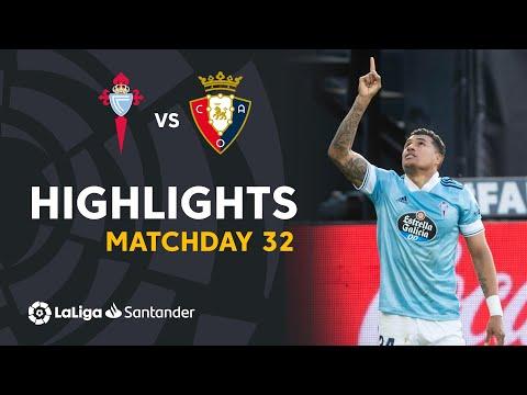 Celta Vigo Osasuna Goals And Highlights