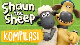 Shaun the Sheep | Full Episodes Compilation 1-4 | Season 5 | Funny Cartoons For Kids