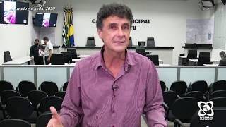 Abelardo fala sobre parquímetro, vale alimentação de servidores, ônibus e mais