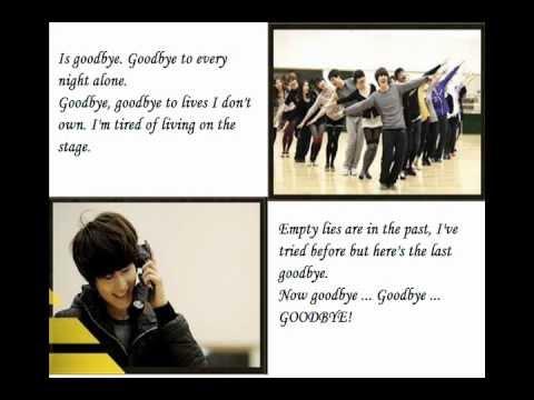 Catch Me If You Can - Goodbye lyrics.wmv