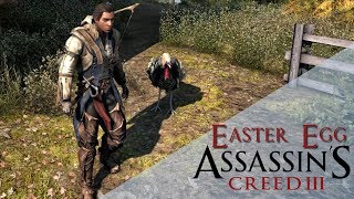 Assassin's Creed 3: ПАСХАЛКИ И СЕКРЕТЫ - ЭЦИО / ЙЕТИ / ИНДЮК-АССАСИН [Easter Egg]