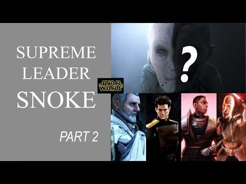 SWC's Snoke Theory | Supreme Leader Snoke Explained (SPOILERS)