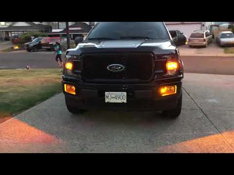 2018 F150 Rigid Industries A Series Led signal upgrade FORD
