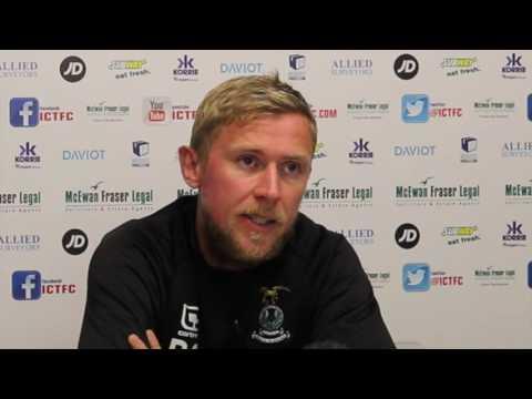 CaleyJagsTV : Richie Foran Match Preview v Aberdeen : 08/09/16