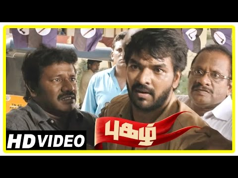 Pugazh Tamil Movie | Scenes | Jai Attacked...