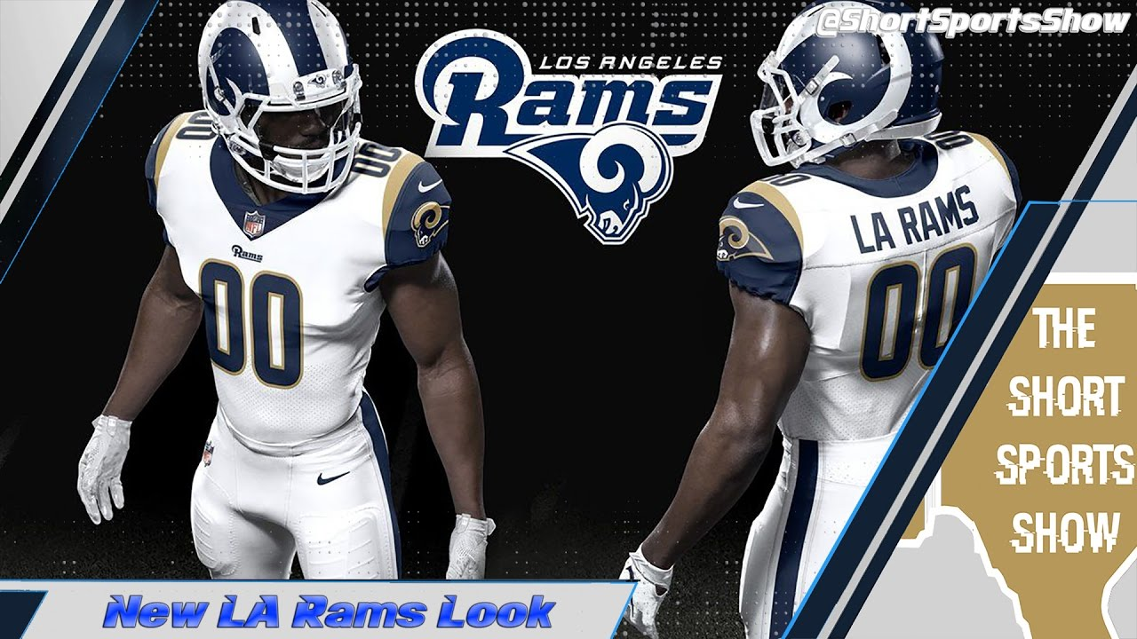 4d19fd34df5 Do You Like The New LA Rams Uniforms  - YouTube