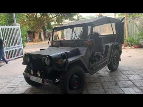 Jeep lùn A2 xe cổ nhưng cực đẹp lại về tại Khanh Camry Củ Chi LH 0988.243838