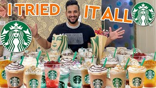 I ORDERED the entire STARBUCKS menu !! *TOO EXPENSIVE*
