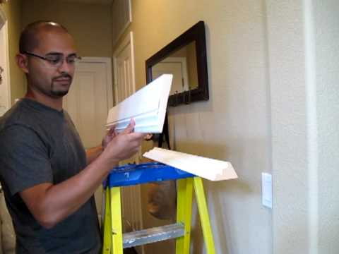 How To Install Double Stacked Crown Molding