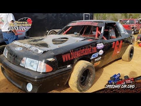 #M64 Cody Miller - Mini Stock - 3-23-19 North Alabama Speedway - In Car Camera