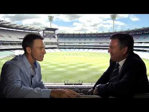 Damien Fleming interviews Eddie McGuire on MSTV