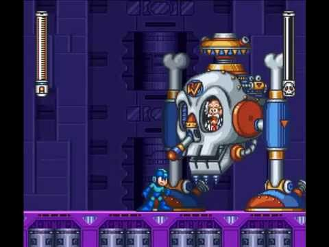 Megaman 7 (SNES) - Final Boss - Dr. Wily (No Damage, Buster Only)