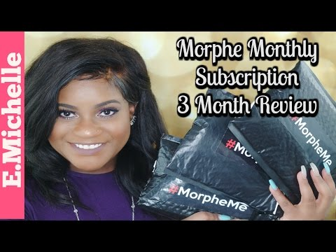 MorpheMe Monthly Brush Subscription 3 Month Review (LiveGlam) | E.Michelle