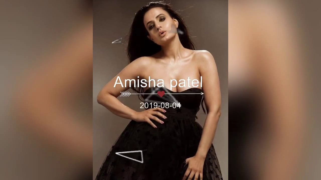 Amisha Patel Hot Boobs Pics amisha patel hot sexy photoshoot|| boobs pop out