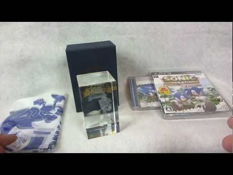 Sonic the Hedgehog 20th Anniversary Crystal Cube [Sonic Collectible Reviews]
