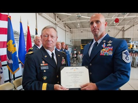 Air Force MSgt. Michael Sears - Silver Star Recipient