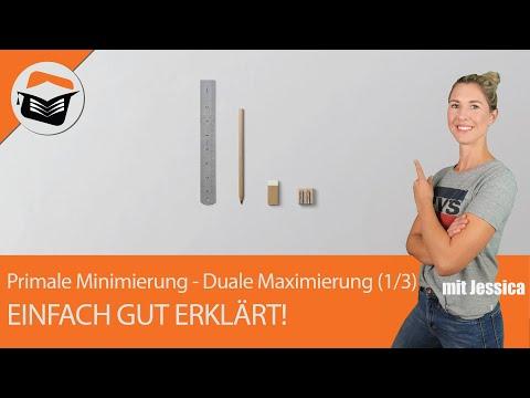 Primales Minimierungsproblem | Duales Maximierungsproblem | Umformung | Regeln  (1 Von 3)