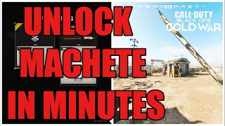 HOW TO UNLOCK TΗE MACHETE IN CALL OF DUTY COLD WAR SEASON 2 IN MINUTES