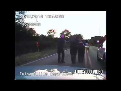 Dash Cam: Video Of Terence Crutcher Getting Shot By Police