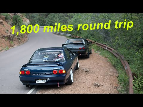 Driving Across Nebraska to Colorado in my r32 Skyline!