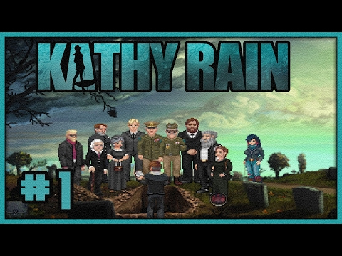 ⋆ Lets Play Kathy Rain (Blind) #1 - A Death In The Family... |