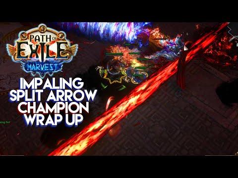 Path of Exile 3.11 - Impaling Split Arrow Champion Wrap Up