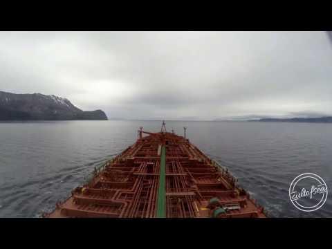 The Strait of Magellan (Estrecho de Magallanes) - Beautiful Go-Pro Timelapse