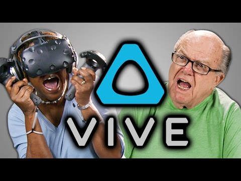 Generate ELDERS REACT TO HTC VIVE (VR) Snapshots