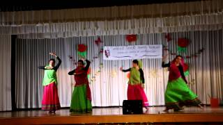Tamil folk dance - Radhai Manadhil, Rasiga, Muthu Mazhai & Aa ante