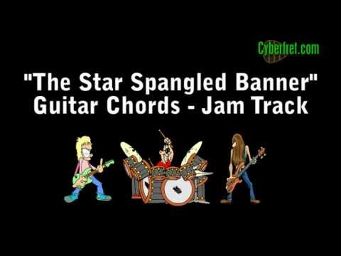 Star Spangled Banner Chords - Jam Track - YouTube