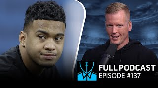 NFL Draft 2020 QB Rankings; Cam Newton released by Panthers | Chris Simms Unbuttoned (Ep. 137 FULL)