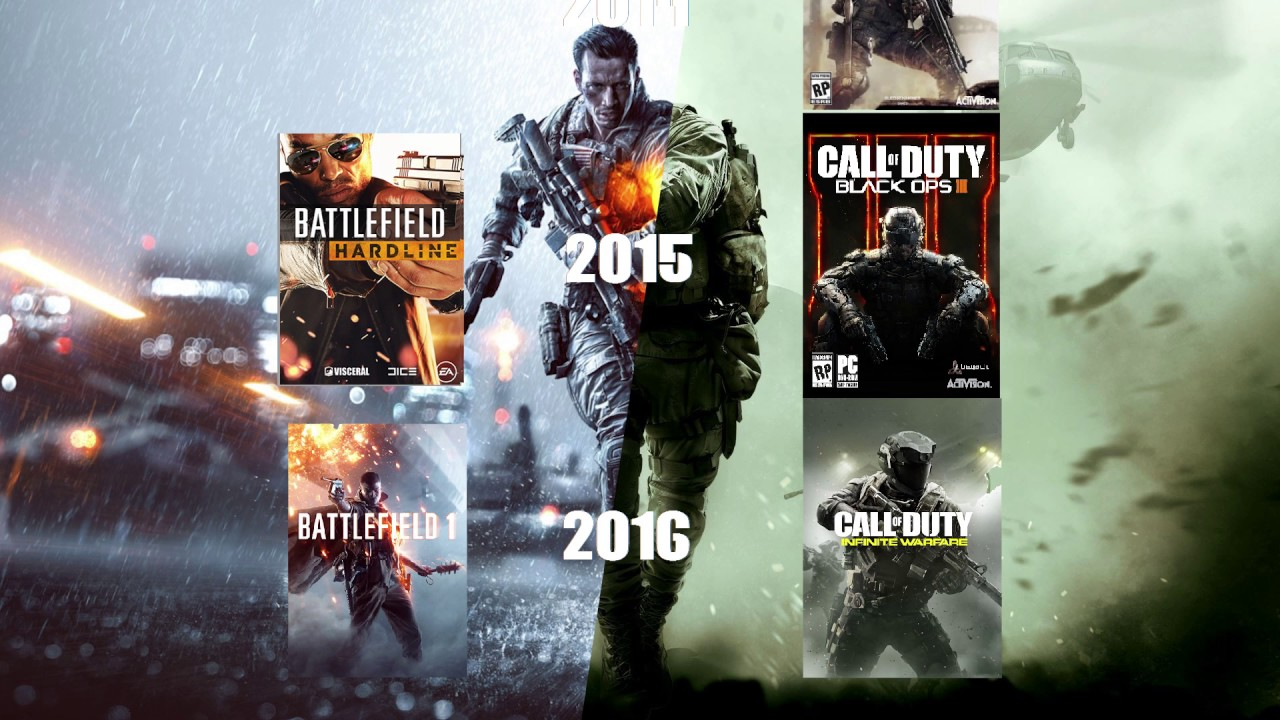 Battlefield Call Of Duty Timeline And Setting Comparison Youtube