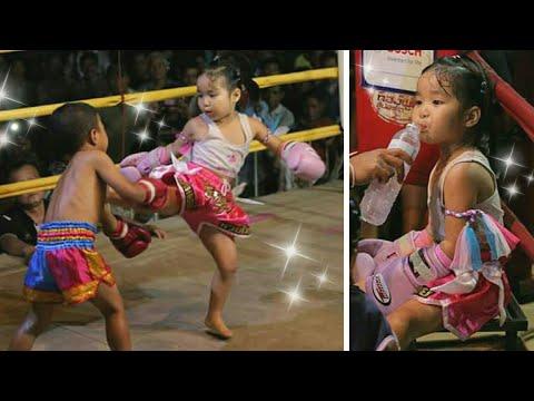 Muay Thai Show😘รีนะRIINA VS Nung! ムエタイ