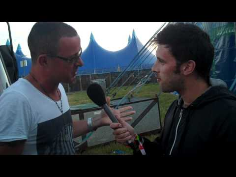 DJ Danny Howard interviews Judge Jules at Creamfields 2011