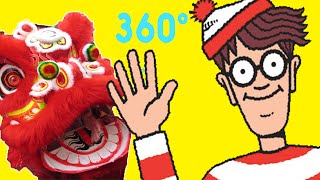 Where's Waldo? in Real Life | Lost in China Town | 360 Degrees For Kids