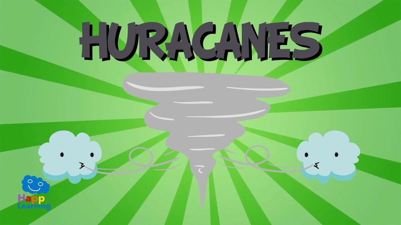 Qué Es Un Huracán Huracanes Tifones Y Ciclones Videos Educativos Para Niños Youtube