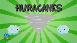 ¿Qué es un huracán? Huracanes, Tifones y Ciclones | Videos Educativos para niños.