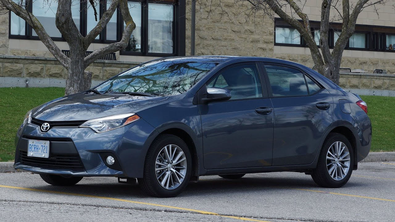 2014 Toyota Corolla LE CVT Review   YouTube